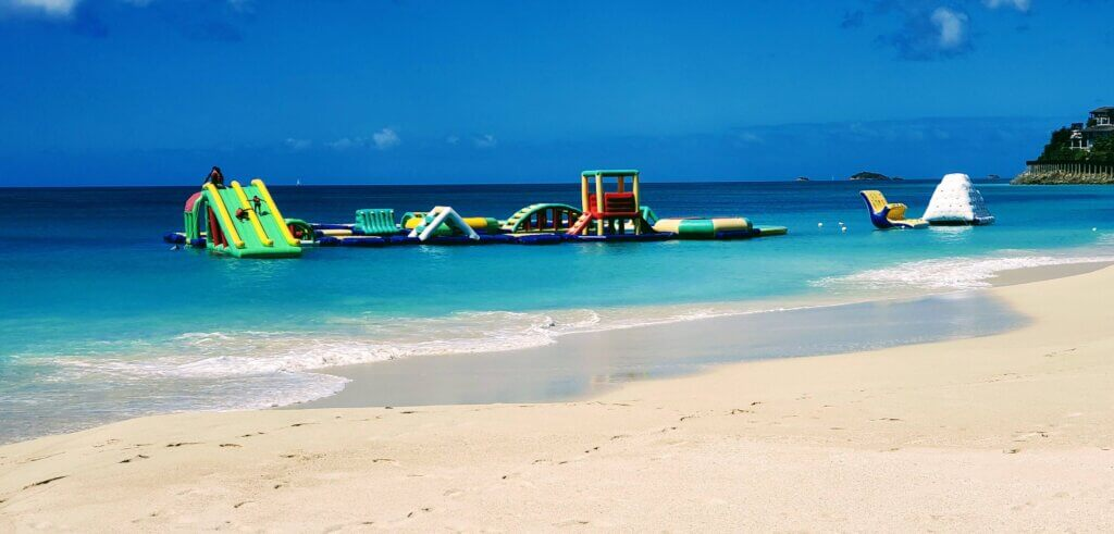 Darkwood Beach one of the best beaches in Antigua to visit with children