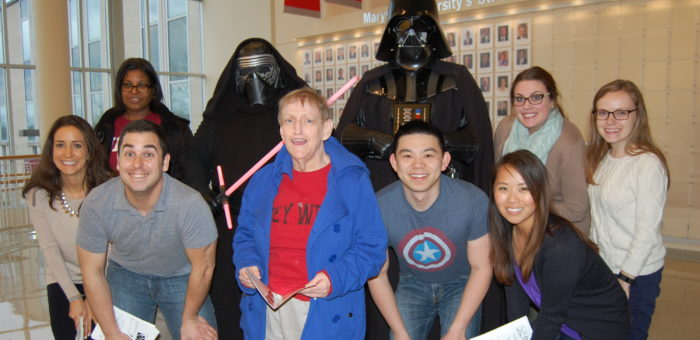 Young Friends with Darth Vader