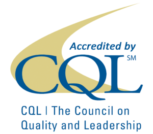 Accredited by the Council on Quality and Leadership