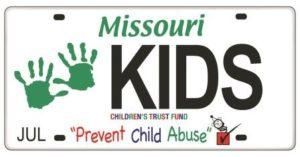 Children's Trust Fund License Plate