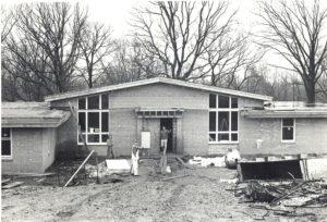 Construction began on housing