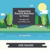 supporting teen behavior infograph