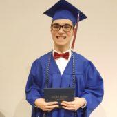Joe at Graduation