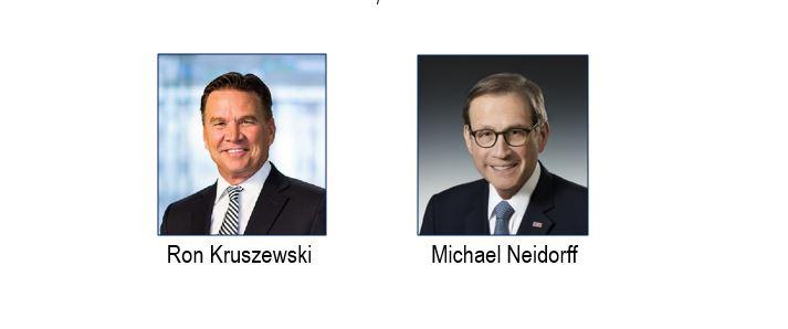 Chairs-Ron Kruszewski and Michael Neidorff