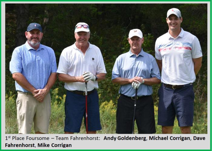 winners of 2021 golf tournament