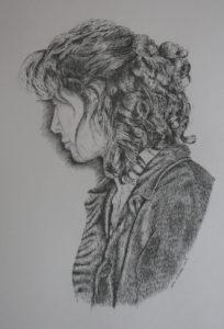 Pen & Ink portrait- Claire