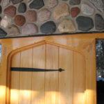 Alaskan Yellow Cedar plank door built by John Huisman
