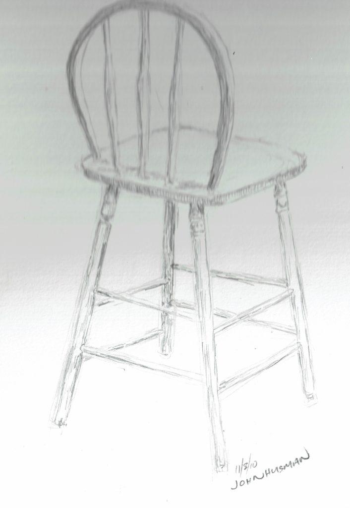 Chair sketch j huisman