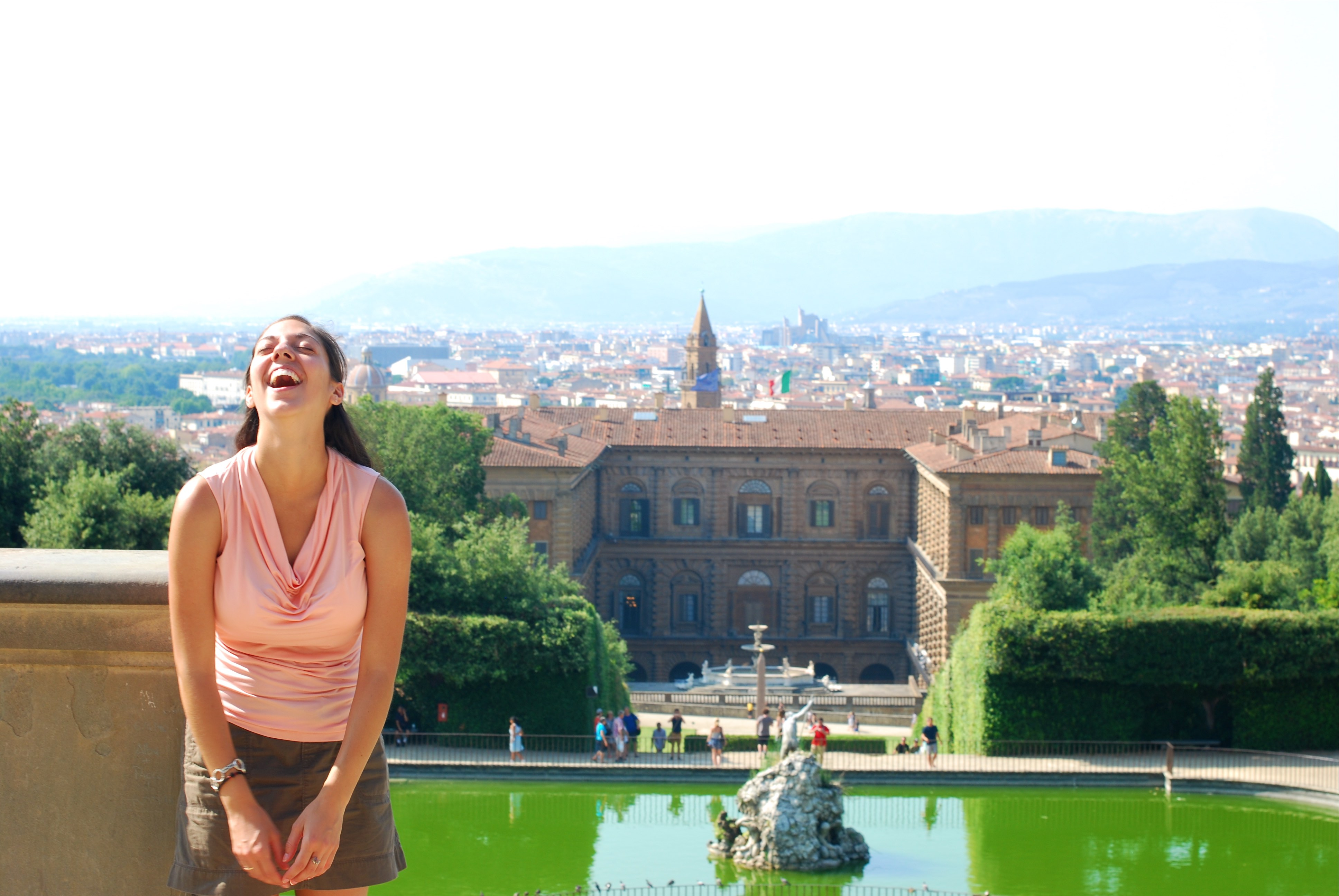 Laughing in Firenze