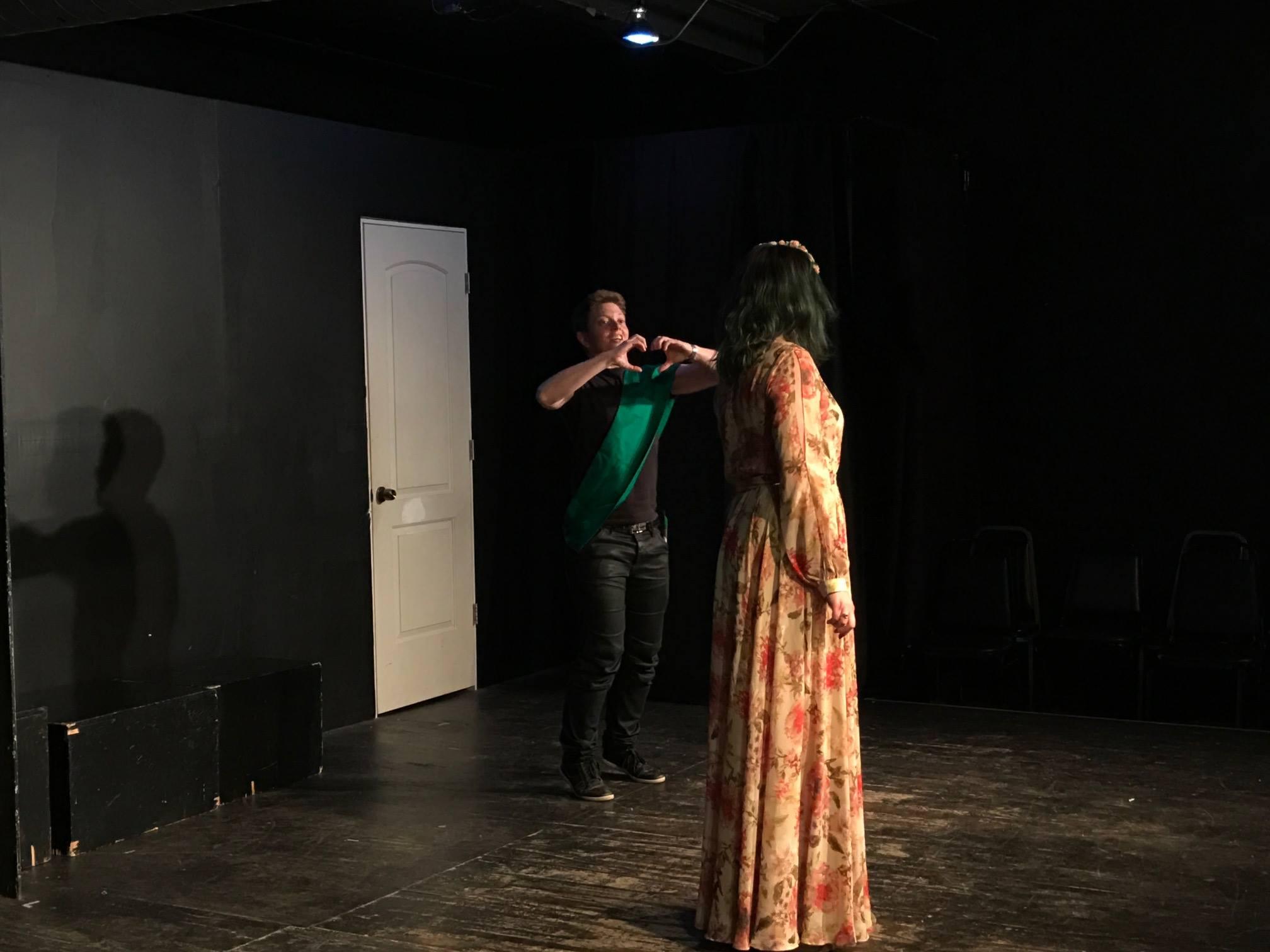 Magic Flute rehearsal the voice lab
