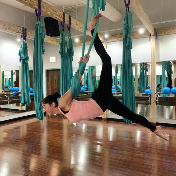 I may also be a budding aerialist!