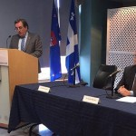 Press conference with Dr. Barrette