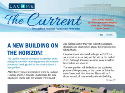 Thumbnail of the cover page of the Fall 2020 edition of The Current