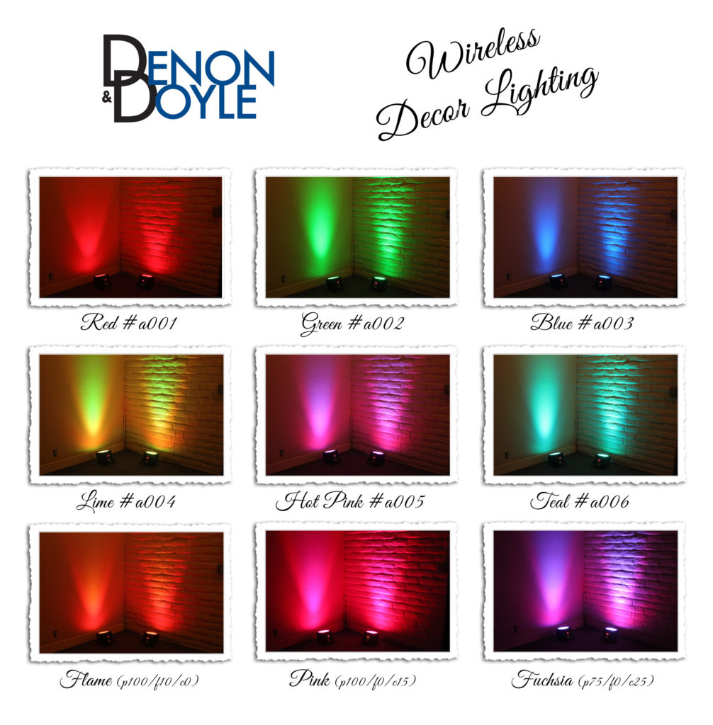 wireless decor lighting