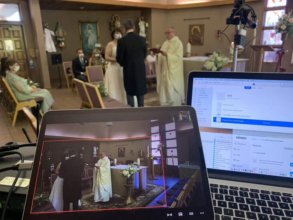 Wedding Live stream