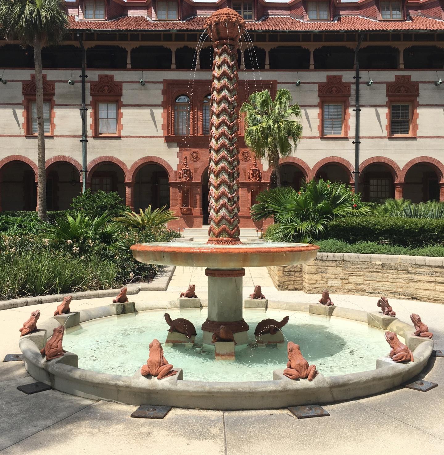 Flagler College Fountain