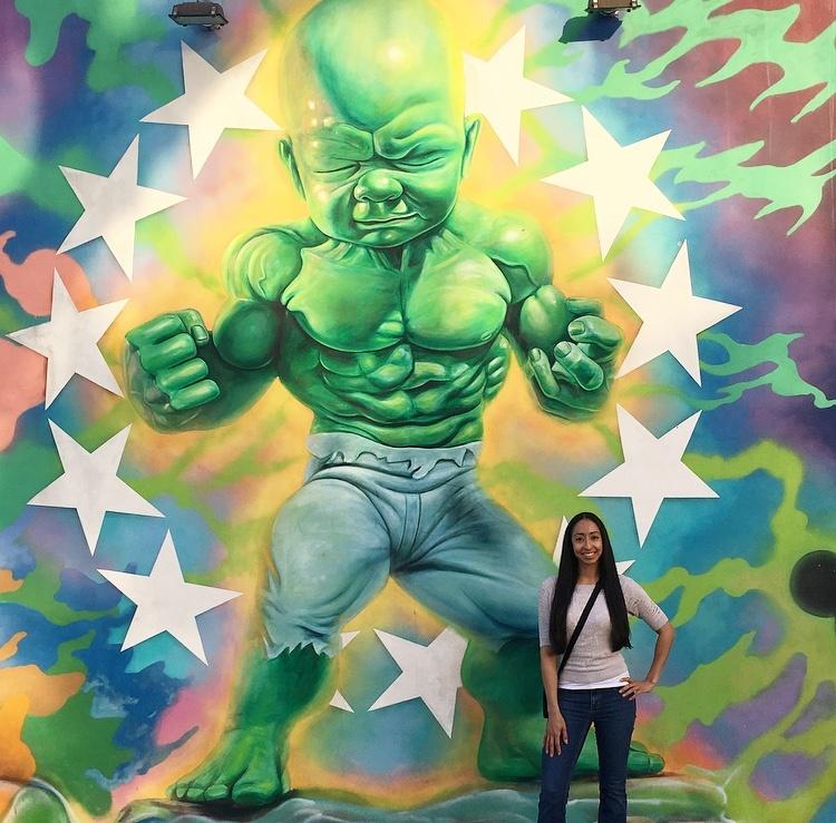 Incredible Hulk Mural