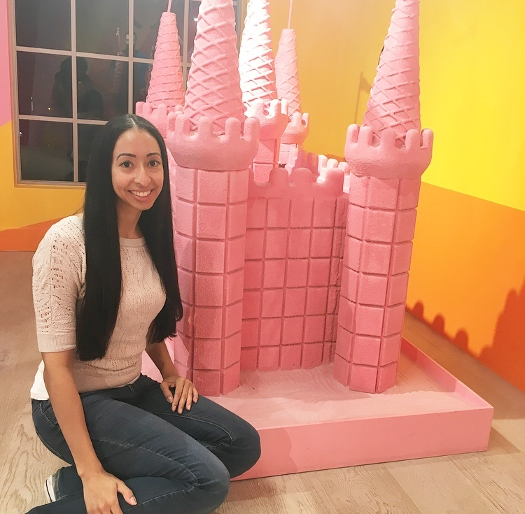 MOIC Pink Sandcastles