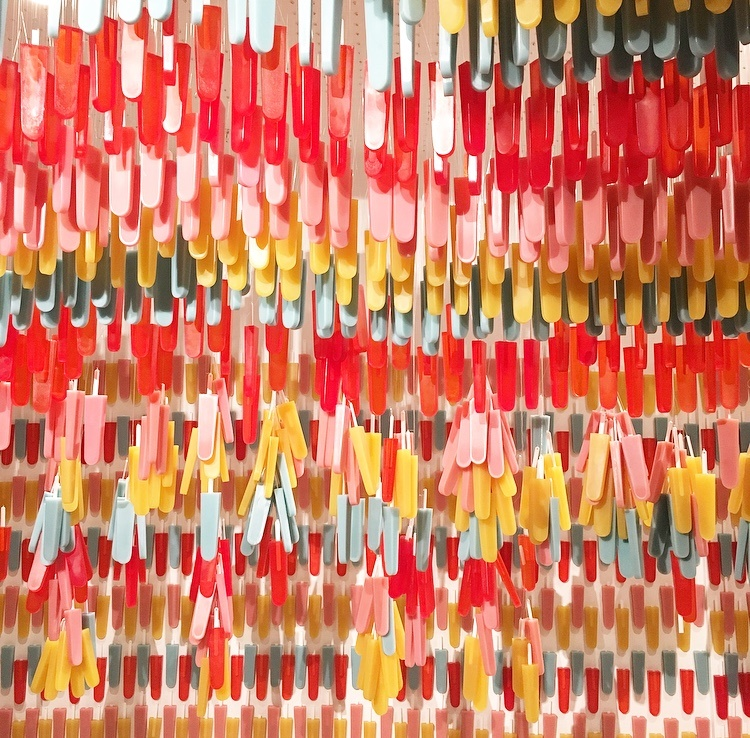 Hanging Popsicles