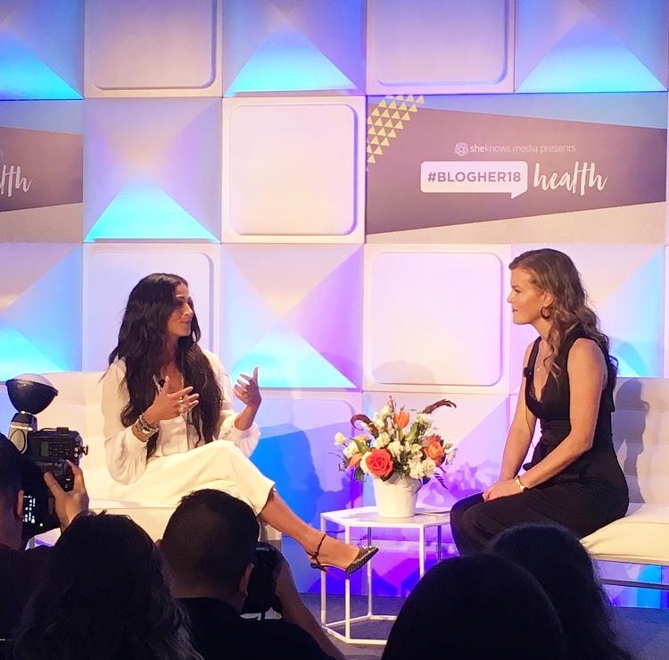 Camila Alves McConaughey at BlogHer18 Health