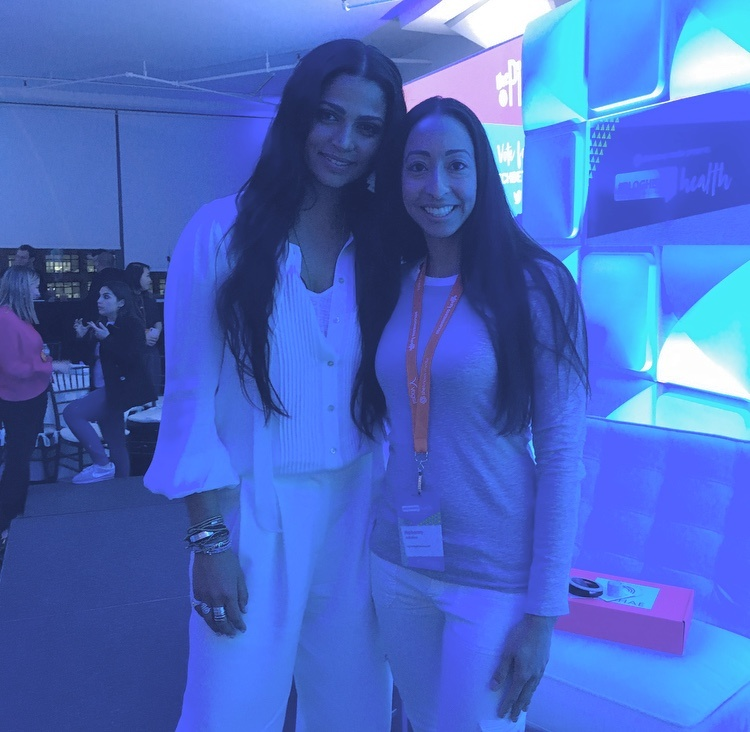 Meeting Camila Alves McConaughey