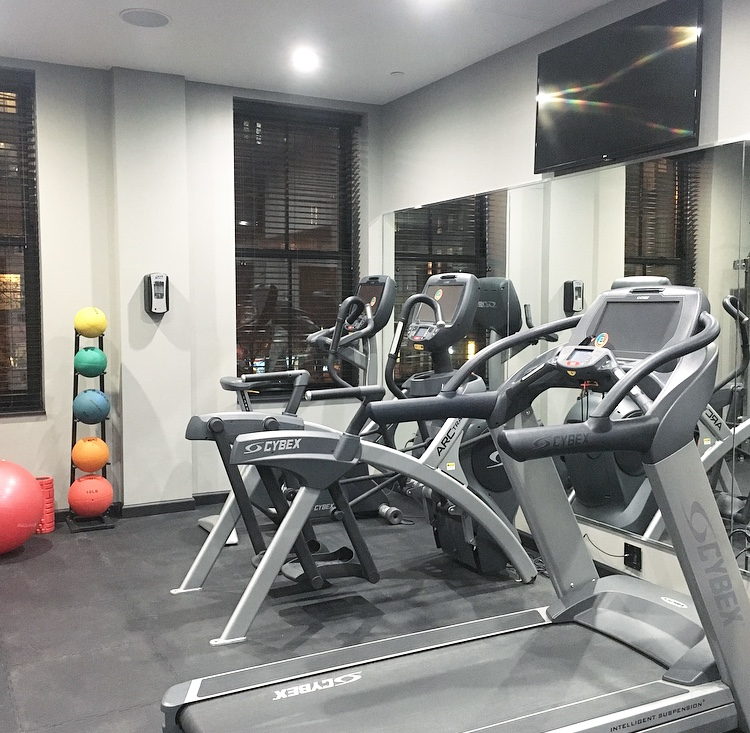 The Frederick Hotel Fitness Center