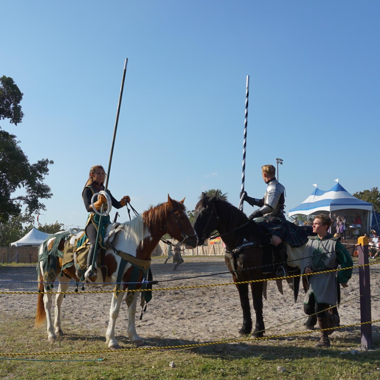 The Florida Renaissance Festival Joust