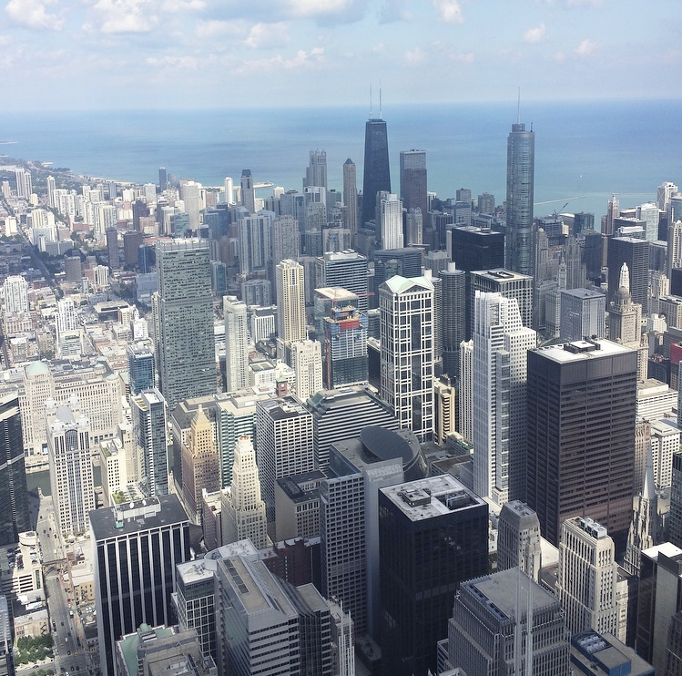 The View From The Willis Tower