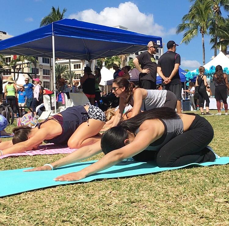 FreshFest Yoga Class