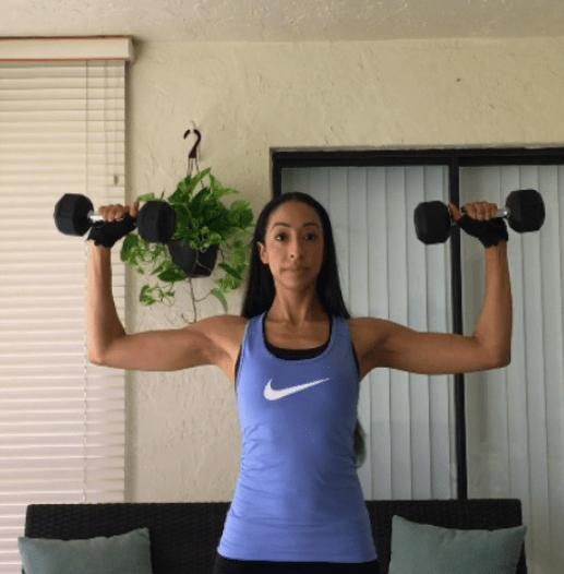 At Home Shoulder Workout