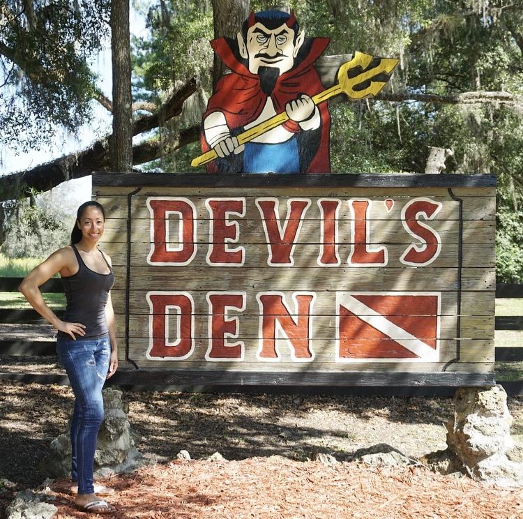 Snorkeling In The Devil's Den