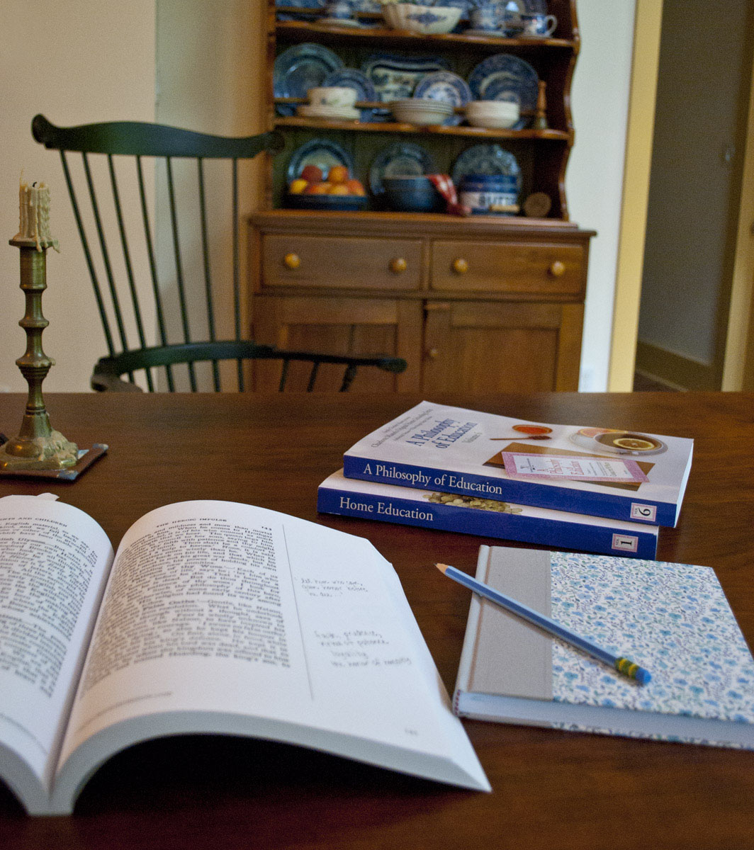 The Original Home Schooling Series: Study Edition books in kitchen 2