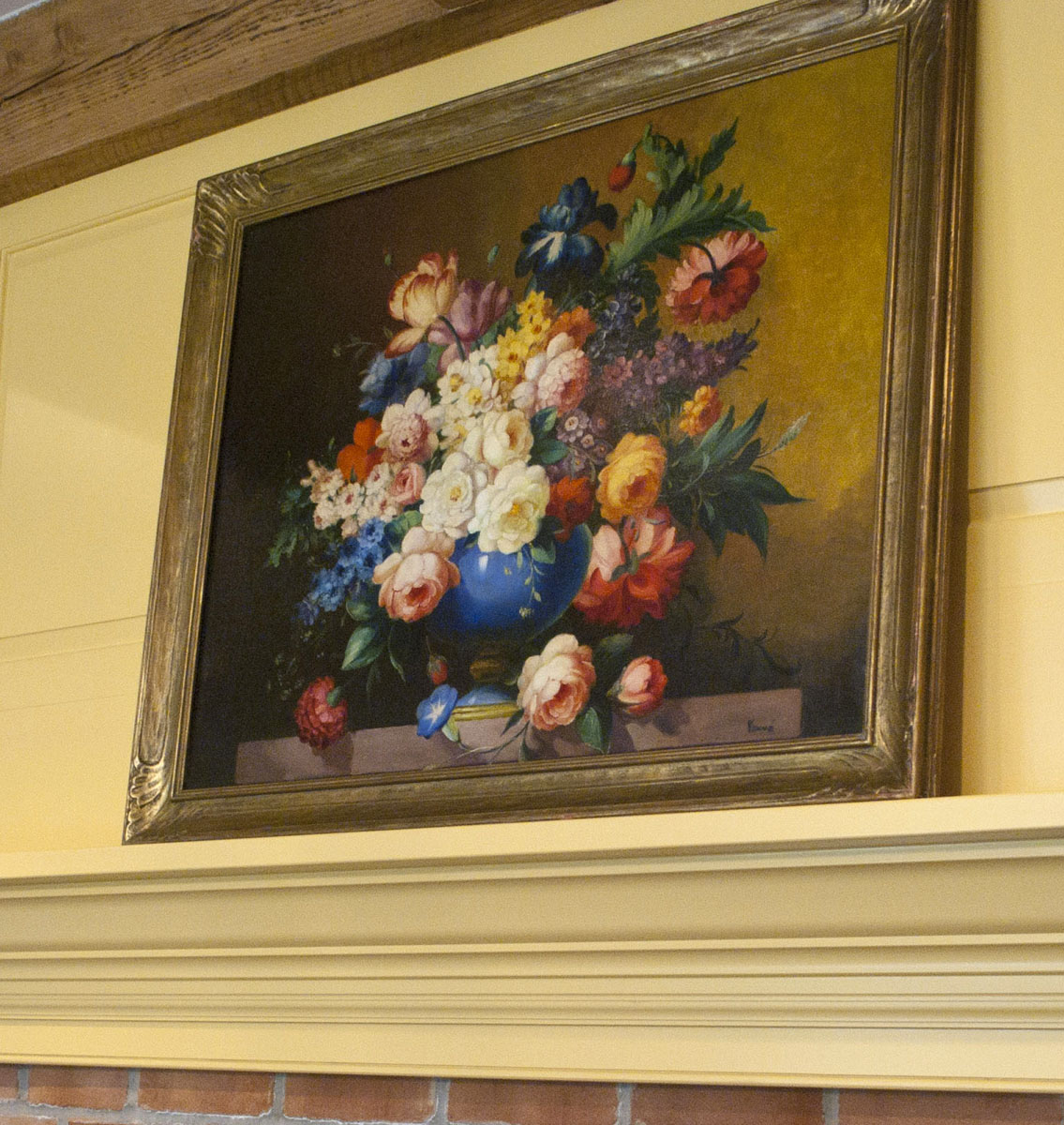 painting on the mantle 2
