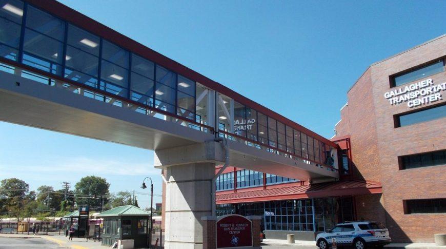 LRTA Pedestrian Bridge