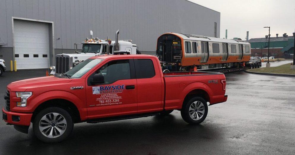 Bayside Heavy Haul of New Orange Red Line Vehicles