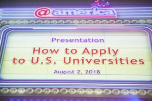 Applying for the US Universities to study in the USA