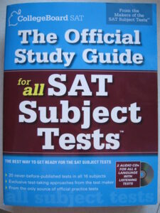 SAT Subject exams to study in the USA