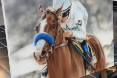 Airbrushed Horse on Canvas