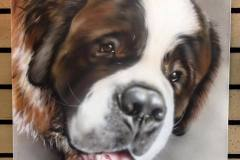 Airbrushed Pet Portrait on Canvas