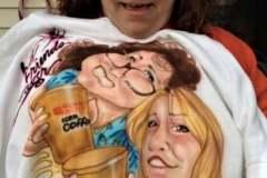 Best Friends Airbrushing t-shirt