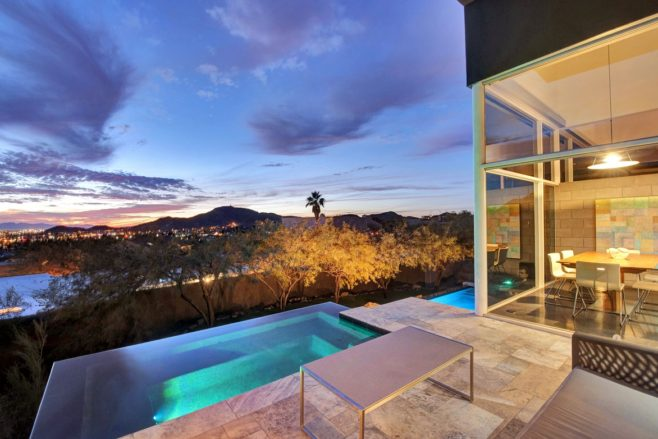 Hillside View - Modern Masterpiece