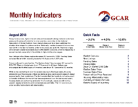 00 Monthly Indicator – Aug 2018