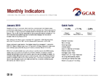 00 January 2019 Monthly Indicator