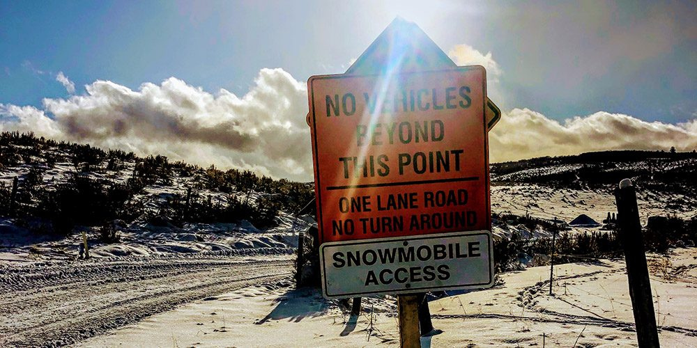 Temple Canyon Snowmobiling