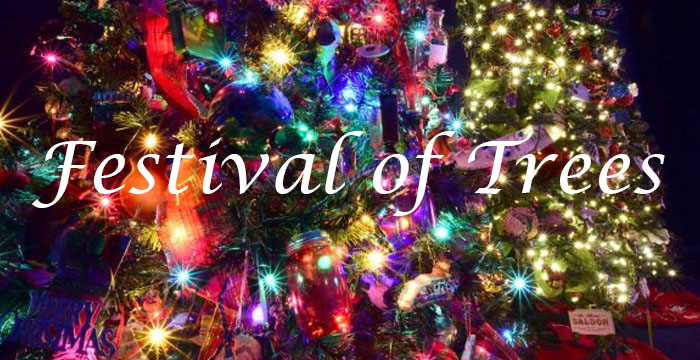 Festival of Trees in Montpelier Idaho at the Oregon Trail Center