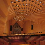 Large Concert Stage with Pipe Organ