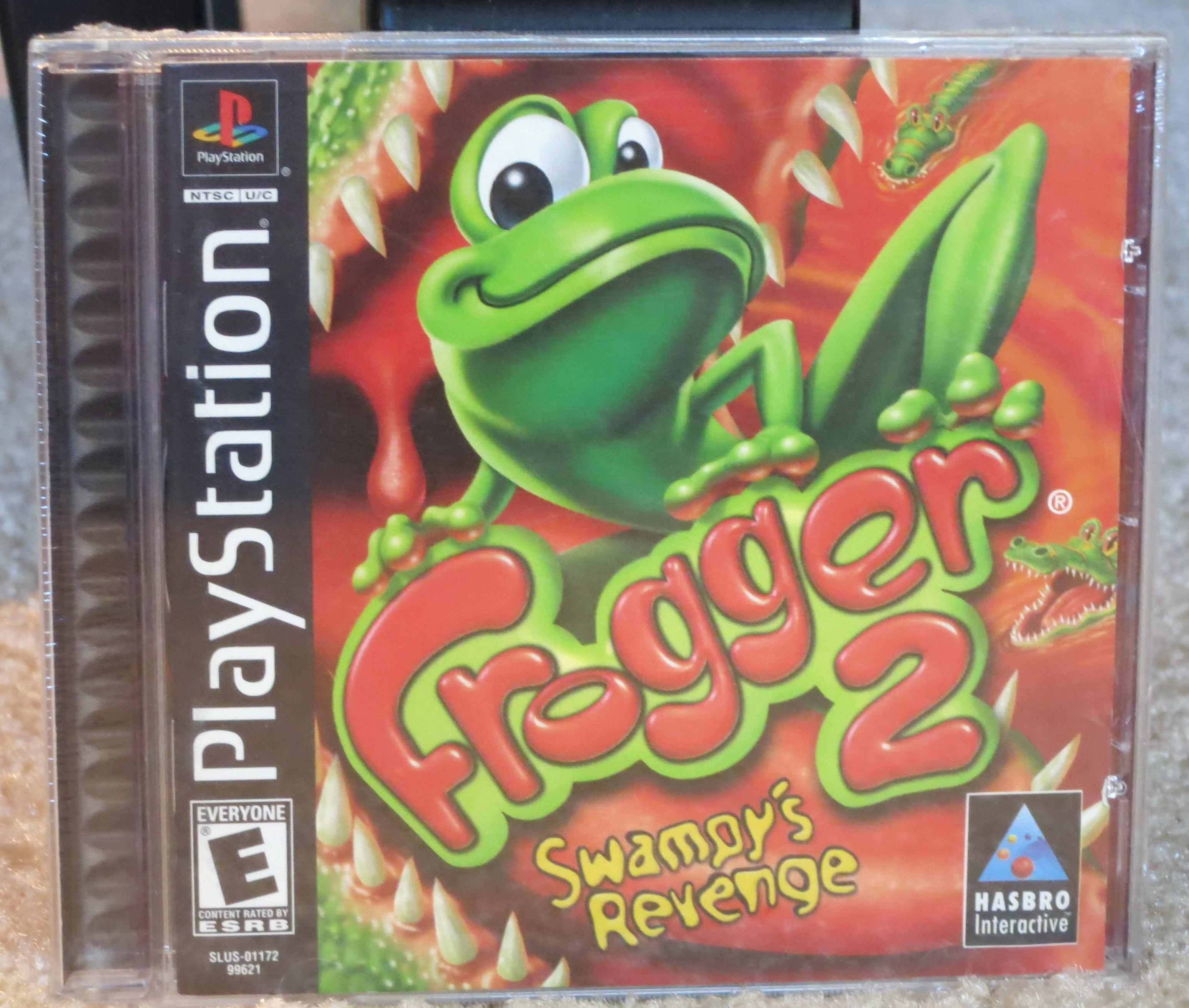 Frogger 2 Swampys Revenge Cover