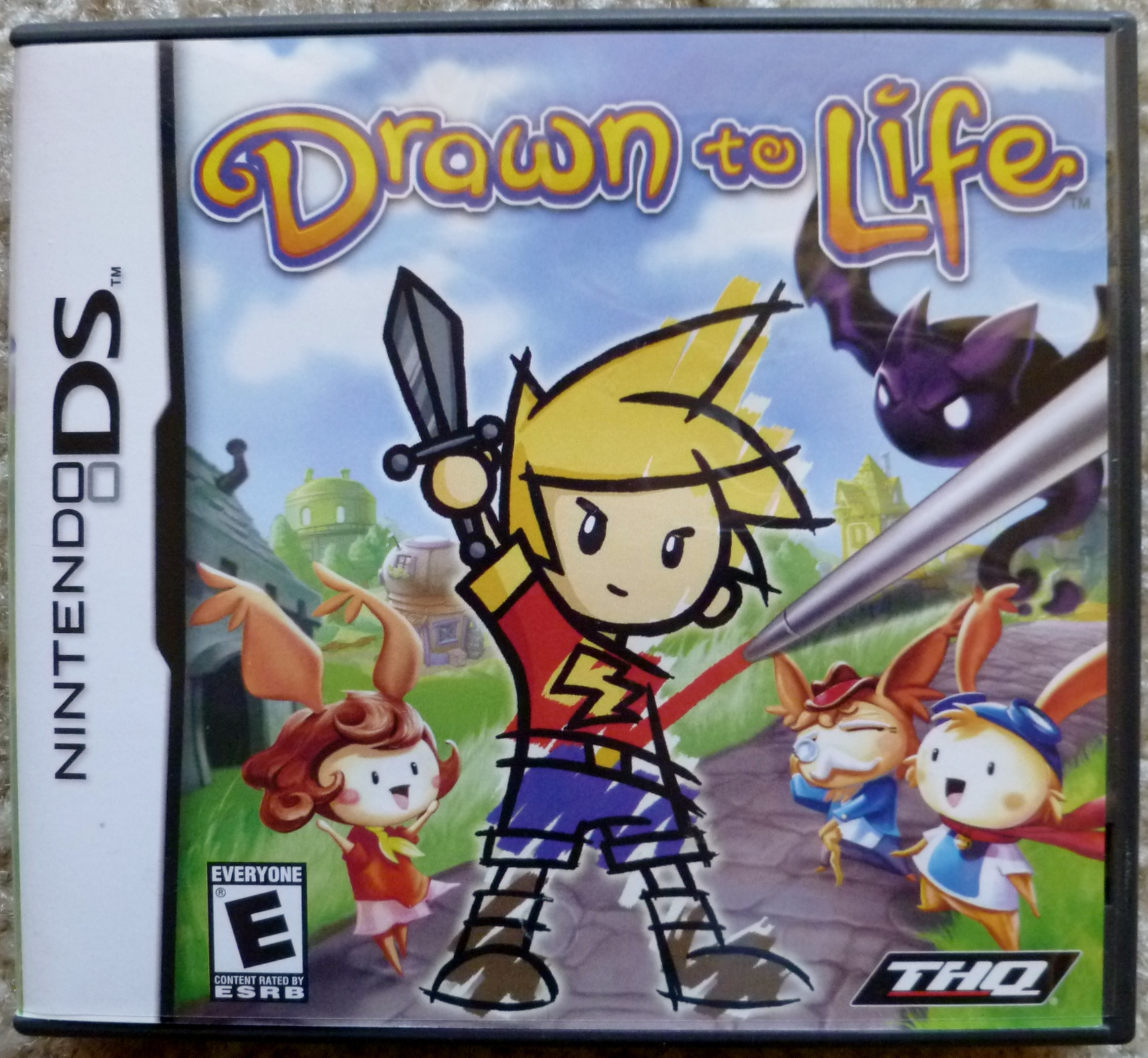 Drawn to Life Cover