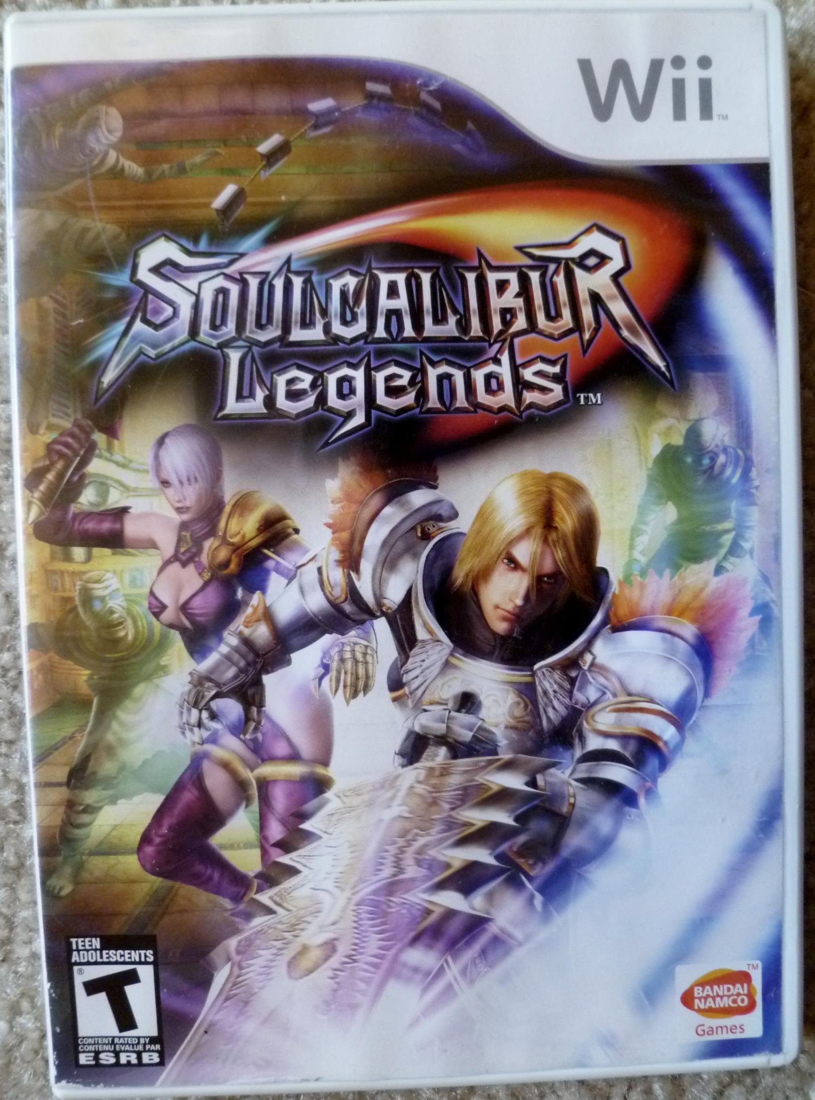 Soul Calibur Legends Cover