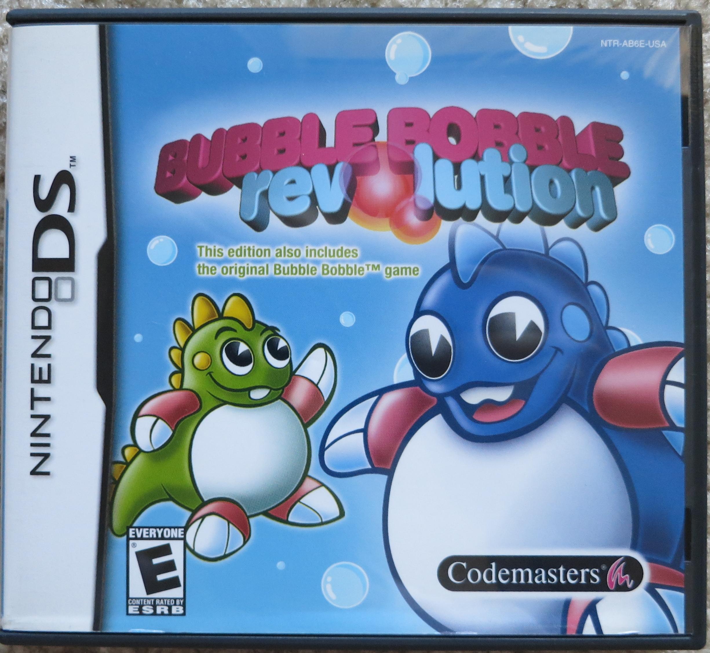 Bubble Bobble Revolution Cover